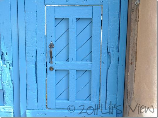 text door before