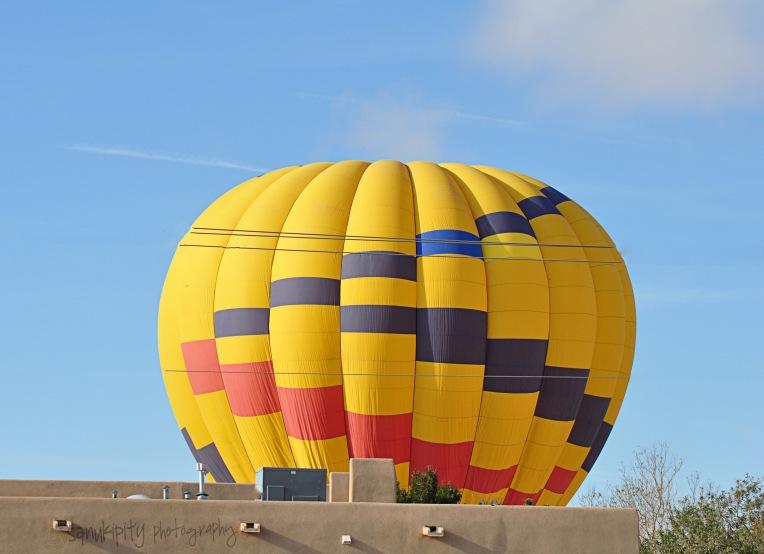 yellow balloon