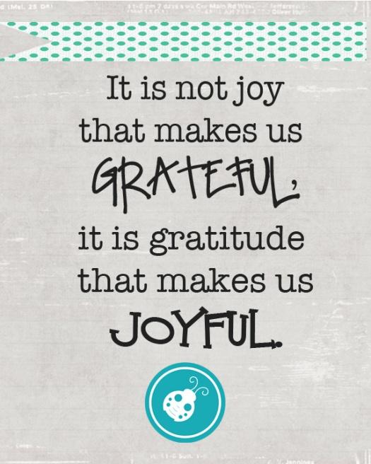 joyful poster