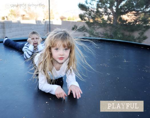 children, playing