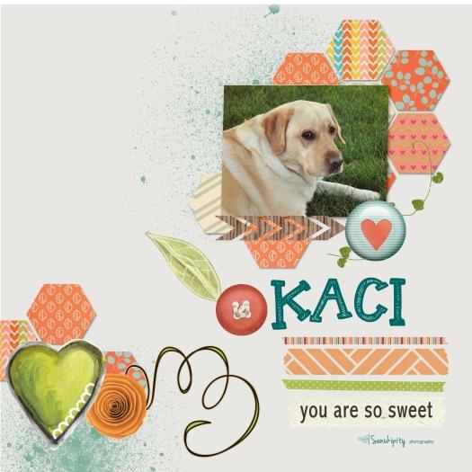 dogs, digital scrapbooking, Kaci, pets