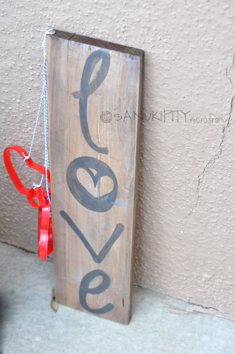Rustic Love Sign