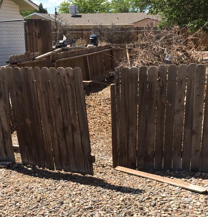 my old fence