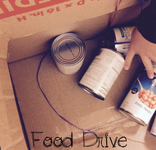 Food to the food drive
